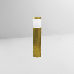 Teres M5 Smooth Small Brass | Bollard lights | BRIGHT SPECIAL LIGHTING S.A.
