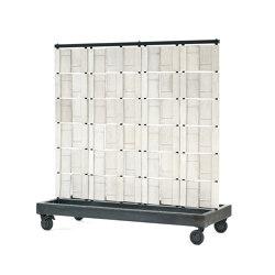 Claustra Room Divider Concrete | Pareti mobili | Serax