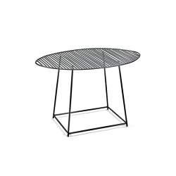Metal Side Table Black Filippo | Side tables | Serax