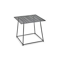 Metal Side Table Black Filippo   Side tables   Serax