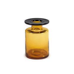 Wind & Fire Vase Amber / Black   Vases   Serax