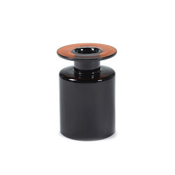 Wind & Fire Vase Black / Dark Brown | Vases | Serax