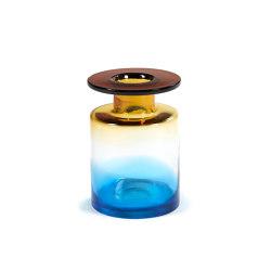Wind & Fire Vase Blue / Amber   Vases   Serax