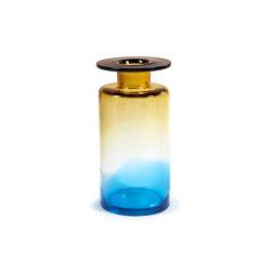 Wind & Fire Vase Blue / Amber | Vases | Serax