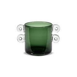 Wind & Fire Vase Dark Green | Vases | Serax