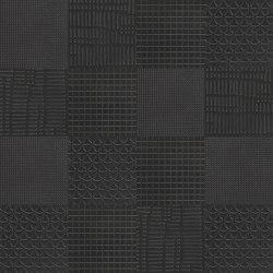 Metallique | Texture Mix Noir | Ceramic tiles | Kronos Ceramiche