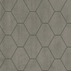 Metallique | Hexa Lamé | Ceramic tiles | Kronos Ceramiche