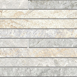 Rocks | Strip Mix Light | Ceramic tiles | Kronos Ceramiche