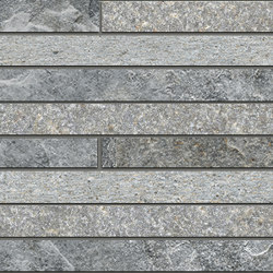 Rocks | Strip Mix Dark | Baldosas de cerámica | Kronos Ceramiche