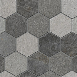 Rocks | Exa Mix Dark | Ceramic tiles | Kronos Ceramiche