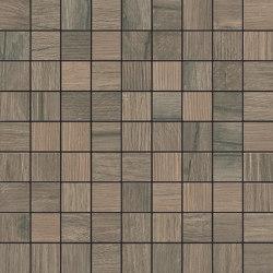 Woodside | Mosaic 3x3 Nut | Ceramic tiles | Kronos Ceramiche