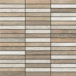 Woodside | Mosaic Tessera Wood Light | Ceramic tiles | Kronos Ceramiche
