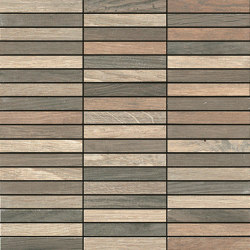 Woodside | Mosaic Tessera Wood Medium | Ceramic tiles | Kronos Ceramiche