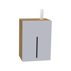 Green Duo Lockable cabinet | Soap dispensers | Stern Engineering