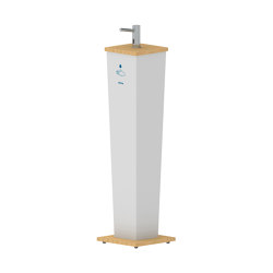 Elite Hand Sanitizer Stand Pillar | Infection prevention | Stern Engineering