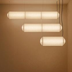 Tekiò Horizontal | Pendant Lamp | Suspended lights | Santa & Cole