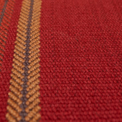Brampton - Deep Red | Rugs | Bomat