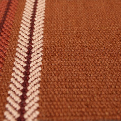 Brampton - Rust | Rugs | Bomat