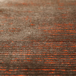 Genoa - Coffee-Red Orange | Rugs | Bomat