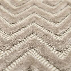 Zigzag - Devito Paloma wool-tencel | Rugs | Bomat