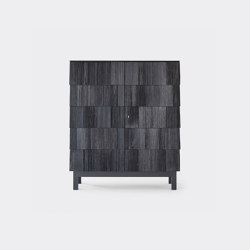 Spåna 80. Black oiled pine | Credenze | Ringvide Studio