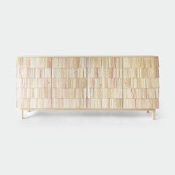 Spåna 192. Natural oiled pine | Credenze | Ringvide Studio