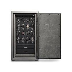 Atlas 16 Piece | Titanium | Valuables storage / safes | WOLF