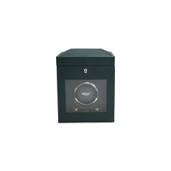 British Racing Single Watch Winder | Green | Behälter / Boxen | WOLF