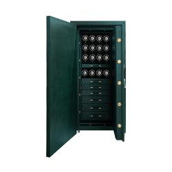 Churchill 16 Piece Winder  | British Racing Green | Valuables storage / safes | WOLF