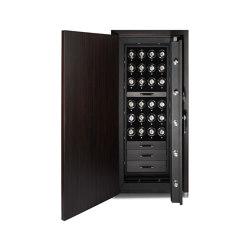 Churchill 24 Piece Winder  | Ebony Macassar | Valuables storage / safes | WOLF