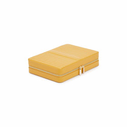 Maria Large Zip Case | Mustard | Storage boxes | WOLF