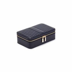 Maria Medium Zip Case | Navy | Storage boxes | WOLF