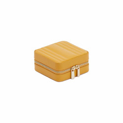 Maria Small Zip Case | Mustard | Storage boxes | WOLF