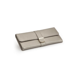 Palermo Jewelry Roll | Pewter | Storage boxes | WOLF