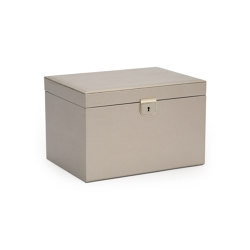 Palermo Large Jewelry Box | Pewter | Behälter / Boxen | WOLF