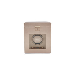 Palermo Single Watch Winder | Rose Gold | Storage boxes | WOLF