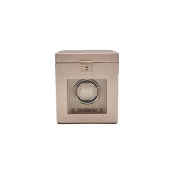 Palermo Single Watch Winder | Rose Gold | Storage boxes | WOLF