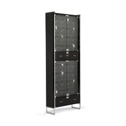 Regent - 32 Piece Cabinet Winder | Piano Black / Matte Black | Storage boxes | WOLF