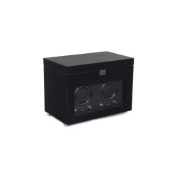 Savoy Double Winder with Storage | Black | Behälter / Boxen | WOLF