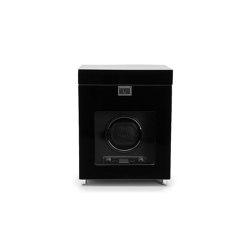 Savoy Single Winder with Storage | Black | Storage boxes | WOLF