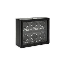 Viceroy 6 Piece Winder | Black | Storage boxes | WOLF