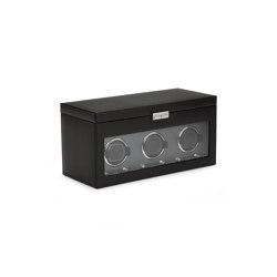 Viceroy Triple Winder with Storage | Black | Storage boxes | WOLF