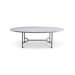 Logan Oval Coffee Table   Tavolini bassi   Porta Romana