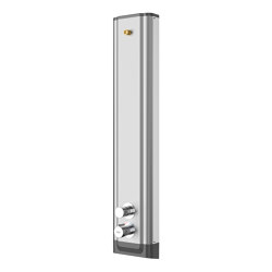 F5S Therm stainless steel shower panel | Shower controls | Franke Water Systems