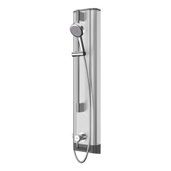 F5L Mix stainless steel shower panel with hand shower fitting | Shower controls | Franke Water Systems