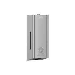 EXOS. electronic disinfectant dispenser for wall mounting | Infection prevention | Franke Water Systems