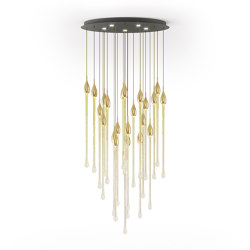 Allure | Suspended lights | Paolo Castelli