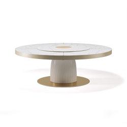 Dione con lazy susan | Tavoli pranzo | Paolo Castelli