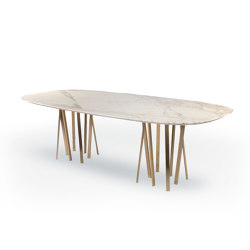 For Hall table oval | Tables de repas | Paolo Castelli
