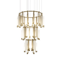 Kalì chandelier | Suspended lights | Paolo Castelli